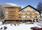 Italský hotel Brötz v zimě