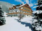 Rakouský hotel Koflerhof v zimě