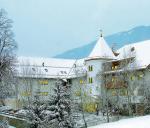 Italský hotel Mühlgarten v zimě