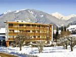 Italský hotel Petrus v zimě